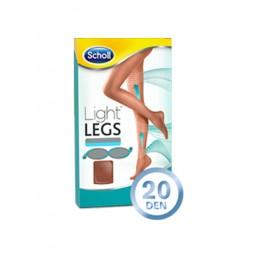 Scholl Light Legs -компресионни чорапогащници 20 den