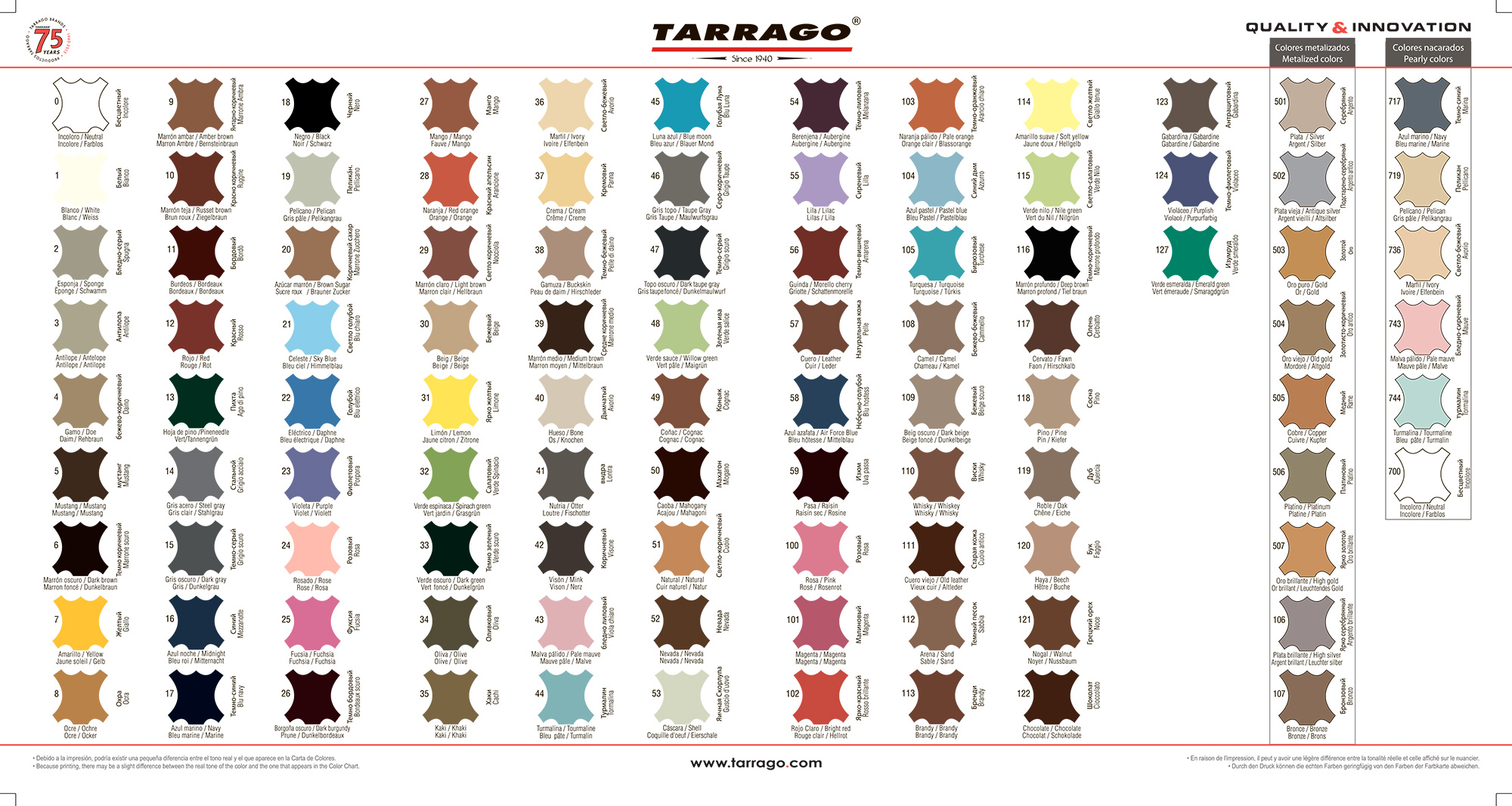 tarrago-colors